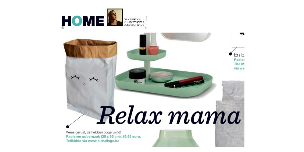 Kidsdinge Mei 2015 Het Nieuwsblad magazine BE
