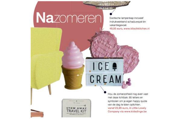 September 2015 Het Nieuwsblad magazine BE