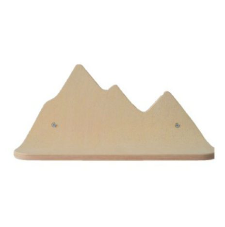 Berg wandplankje beuk