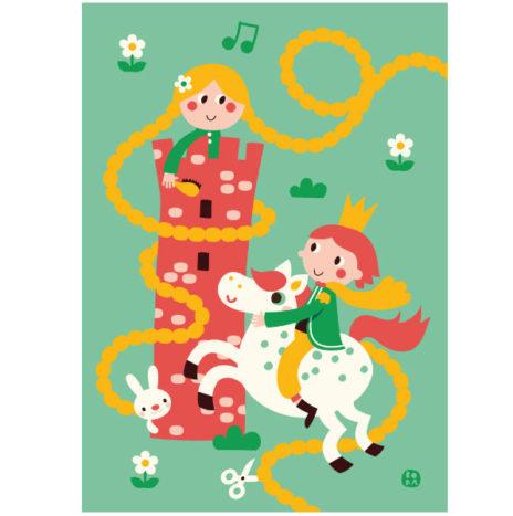 Bora poster Rapunzel 50×70