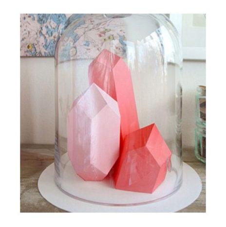 DIY Berg Kristal Mal berk 11×20 cm