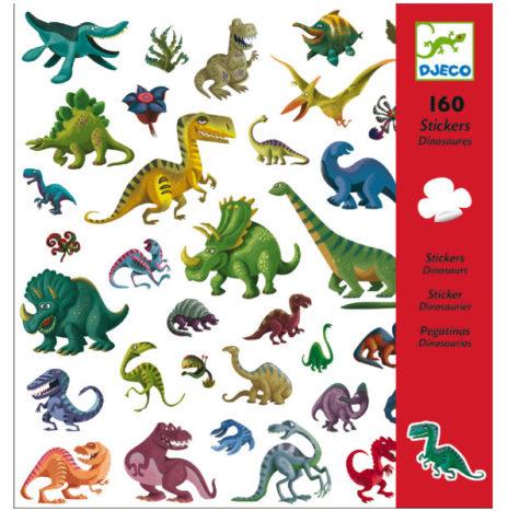 Djeco Dinosaurus stickers 160 stuks