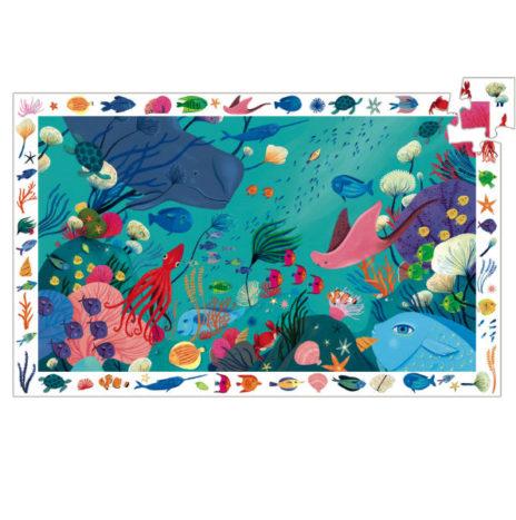Djeco Oceaan puzzel 54 stuks 4j