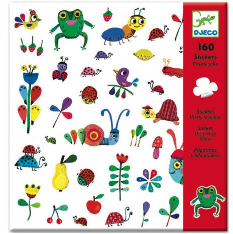 Djeco stickers In de wei 160 stuks