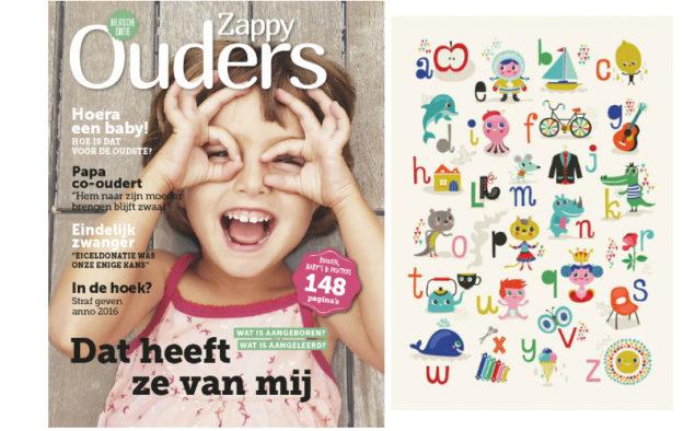 Maart 2016 Zappy Ouders magazine BE