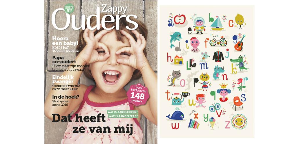 Kidsdinge Maart 2016 Zappy Ouders magazine BE