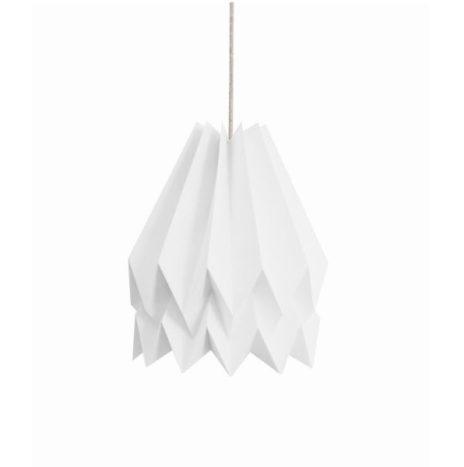 Origami lamp wit
