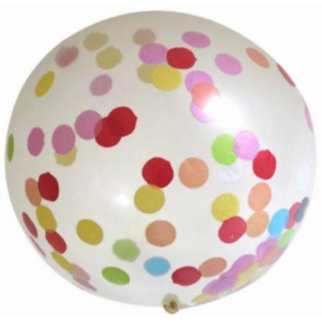 De LAATSTE Confetti ballon XXL 90cm