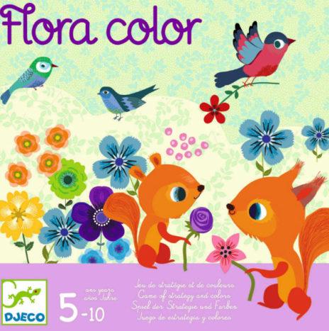 De LAATSTE Djeco Flora color strategie spel 5-10j