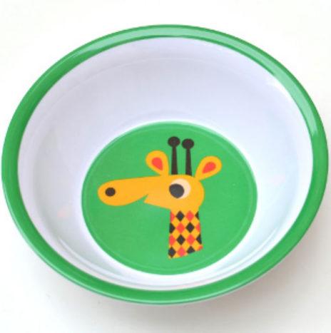 Ingela giraf bowl melamine