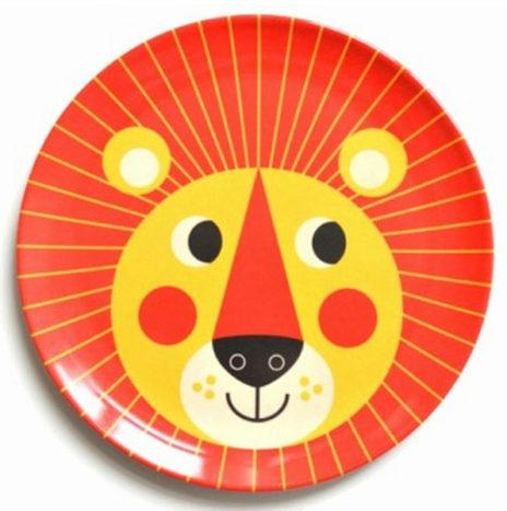 Ingela leeuw eetbord melamine