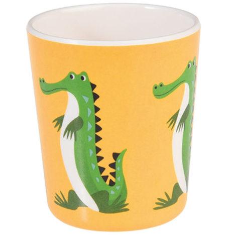 Krokodil beker melamine