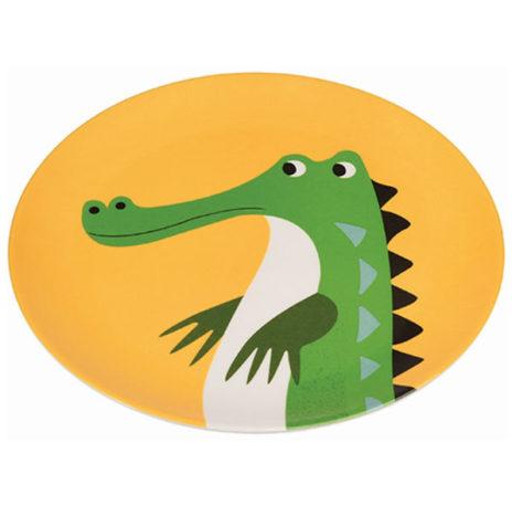 Krokodil eetbord melamine