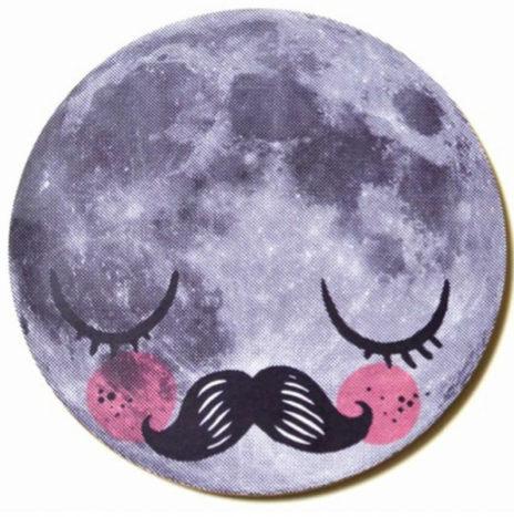 Mister moon onderzetter Martin Krüsche