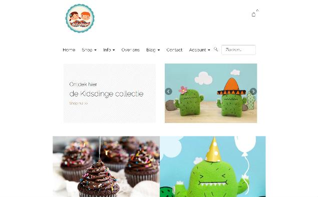 Feest! Kidsdinge 6 jaar online: 6 dagen gratis verzending in België en Nederland