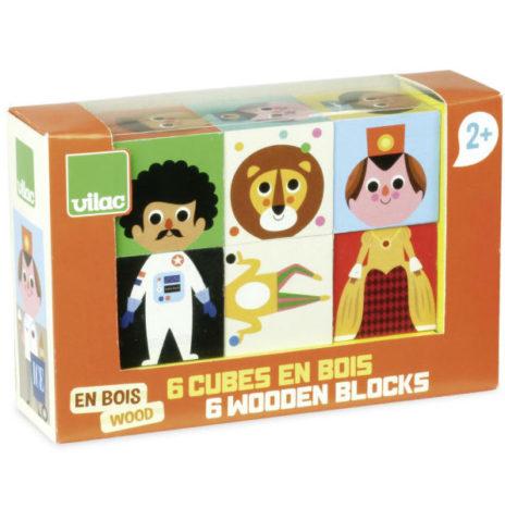 Vilac houten set blokpuzzels Ingela P Arrhenius