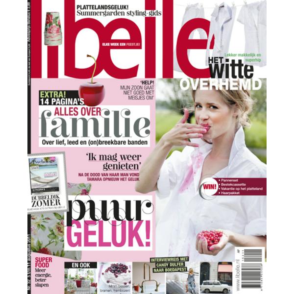 Augustus 2011 Libelle magazine Nederland