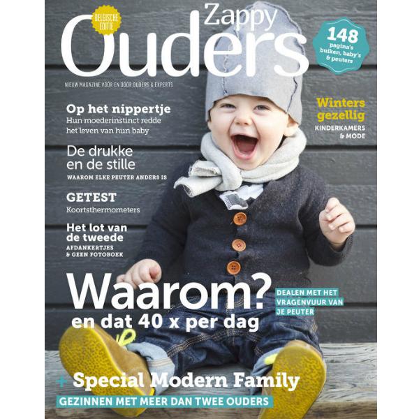 November – December 2016 Zappy ouders magazine België