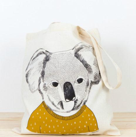Koala draagtas katoen