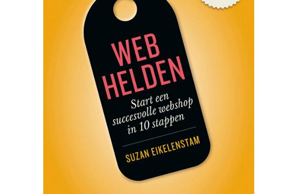 Boek Webhelden Start een succesvolle webshop in 10 stappen Suzan Eikelenstam