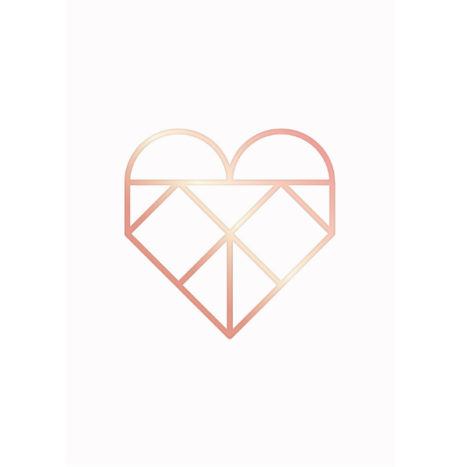 Navucko Postkaart Heart