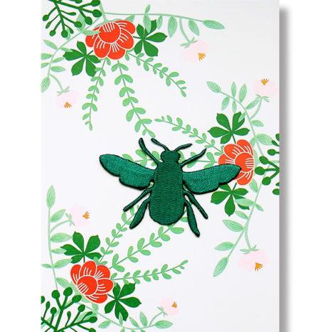 Wowgoods Bee patch wenskaart