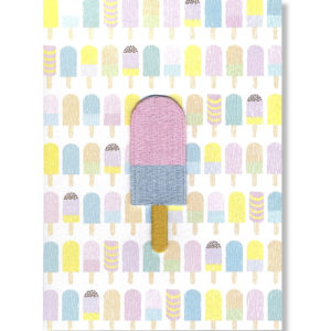 Wowgoods Ice cream patch wenskaart