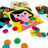 Dobbelspel kleuren Ingela