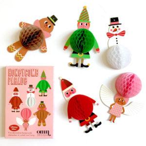 Christmas Honeycombs