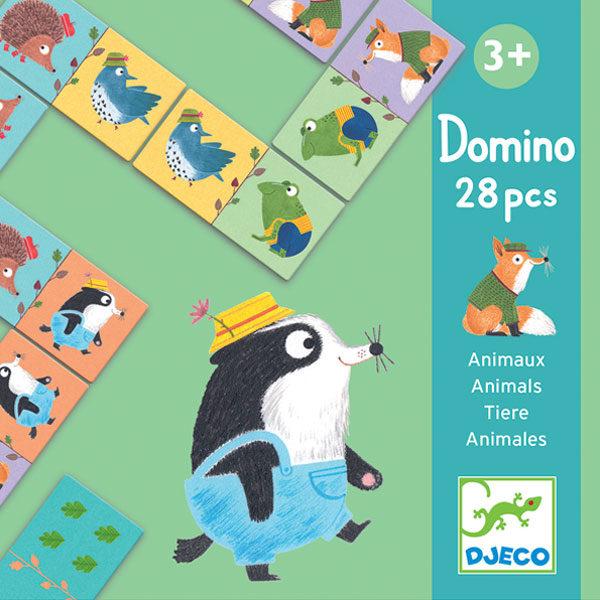 Djeco domino animals vanaf 3 jaar