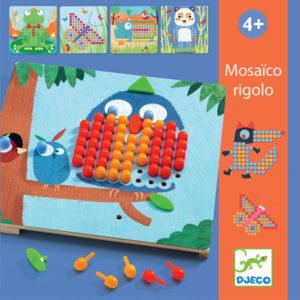 Djeco mosaico rigolo vanaf 4 jaar