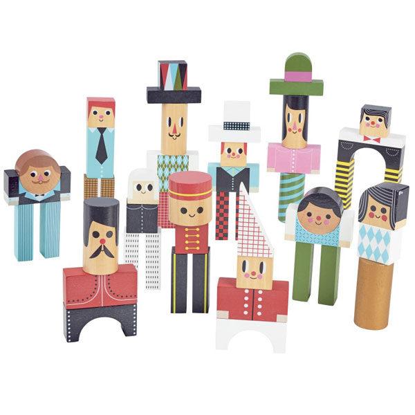 Vilac houten blokken Ingela vanaf 3j