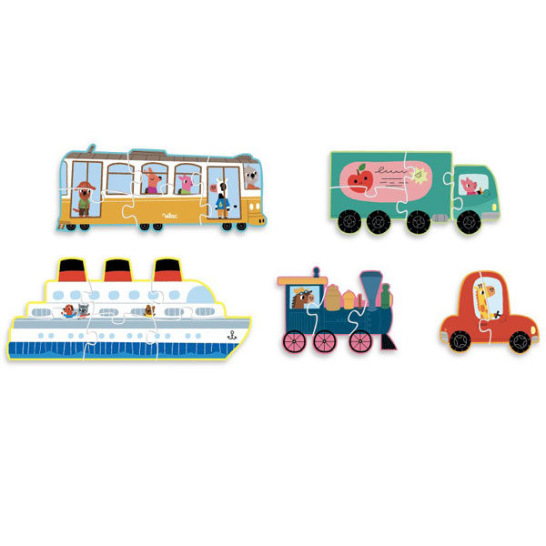 Vilac transport puzzel vanaf 2j
