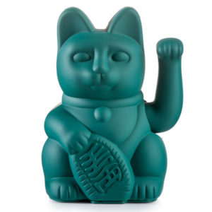 Lucky-cat-green
