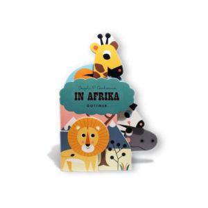 In Afrika Ingela P Arrhenius vanaf 1 jaar Reis mee met Ingela P Arrhenius en ontdek Afrika! Op ontdekkingstocht Ga mee naar de savanne, waar je allerlei wilde dieren kunt ontdekken! Van leeuwen tot olifanten. Unieke vorm De pagina's hebben allemaal een andere vorm en worden steeds groter. Dit zorgt voor een bijzondere vorm en uitstraling. Het dikke karton kan prima tegen een stootje. Perfect om mee te spelen! Kartonboek 12 pagina's - vanaf 1 jaar