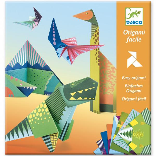 Djeco Origami Dinosaurus vanaf 6-11 Van het Franse merkDjecois deze stoere Dinosaurus Origami knutselset. In de hersluitbare verpakking zitten 8 x 3 verschillende dinosaurusorigami afbeeldingenen een stap voor stap instructieboekje. De origami is geschikt voorcreatieve kinderen vanaf 6 – 11 jaaren ideaal alsverjaardagscadeautje. De mooie illustraties zijn van de Amerikaanse illustrator Andrew Holder. Defamily origamien de lekkernijen origami is ook een aanrader.