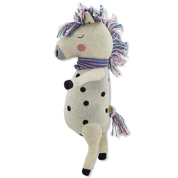 Ava & Yves Unicorn knuffel Ben je op zoek naar een schattige knuffel voor de allerkleinsten? Dan is deze Unicorn een ideaal geboortecadeau of cadeautje voor een verjaardag. Materiaal: fijn gebreide stof van 100% biologisch katoen Vulling: 100% polyester Afmeting: 40 x 24 x 10 cm Verzorging: handwas op 30 ° Voldoet aan de eisen van EN71