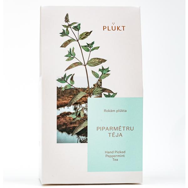Pepermunt losse thee - Biologisch - kalmerend PLŪKT Pepermuntthee (bevat losse hele bladeren van Mentha piperita) is niet alleen rijk van smaak met een heerlijk knapperige afdronk, maar heeft een magisch aroma en kalmerende werking op het lichaam. We moedigen aan om diep adem te halen, te gaan liggen en te genieten van de viering van de natuur. EIGENSCHAPPEN: kalmerend, aromatisch, klassiek; geen ingeslagen bladeren alleen losse. -> gecertificeerd biologisch -> veganistisch, vegetarisch -> met de hand geplukt in biologische wilde weiden en bossen van Noord-Europa -> ethisch merk Cafeïne vrij GGO-vrij *** Specificaties *** Witte kartonnen verpakking met beschermende binnenverpakking, gewicht 25 g. Afmeting 9,6cm x 5cm x 17cm (h)
