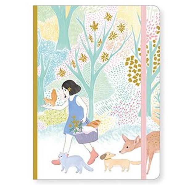 Djeco notitieboek Miss Cyndi 78 pagina's Miss Cyndi is een blanco notitieboekje met 78 pagina's uit de Lovely paper collectie van het Franse merk Djeco. Gedrukt op FSC papier. Ideaal als verjaardagscadeautje of gewoon leuk als cadeautje voor jezelf.