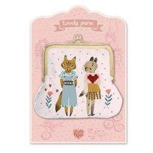 Djeco portemonnee Cats Cats is een schattige portemonnee voor de allerkleinsten van het Franse merk Djeco. Leuk als verjaardagscadeautje.