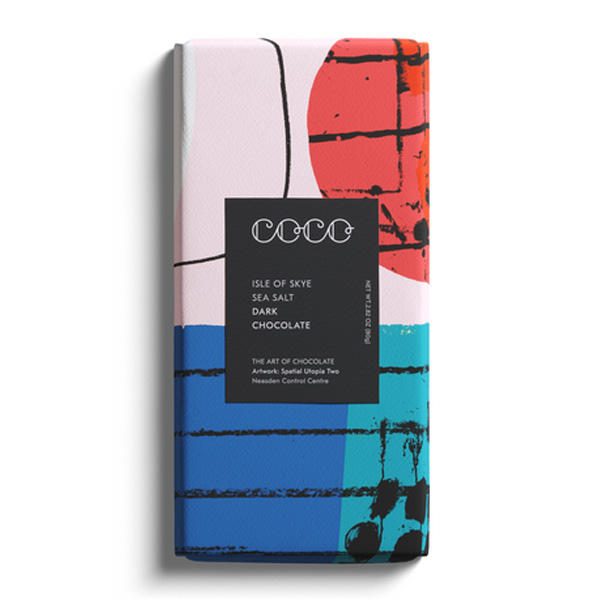 Coco Donkere chocolade Isle of Skye zout